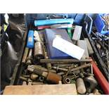 LOT OF ASSORTED DRILL BITS & TAPS