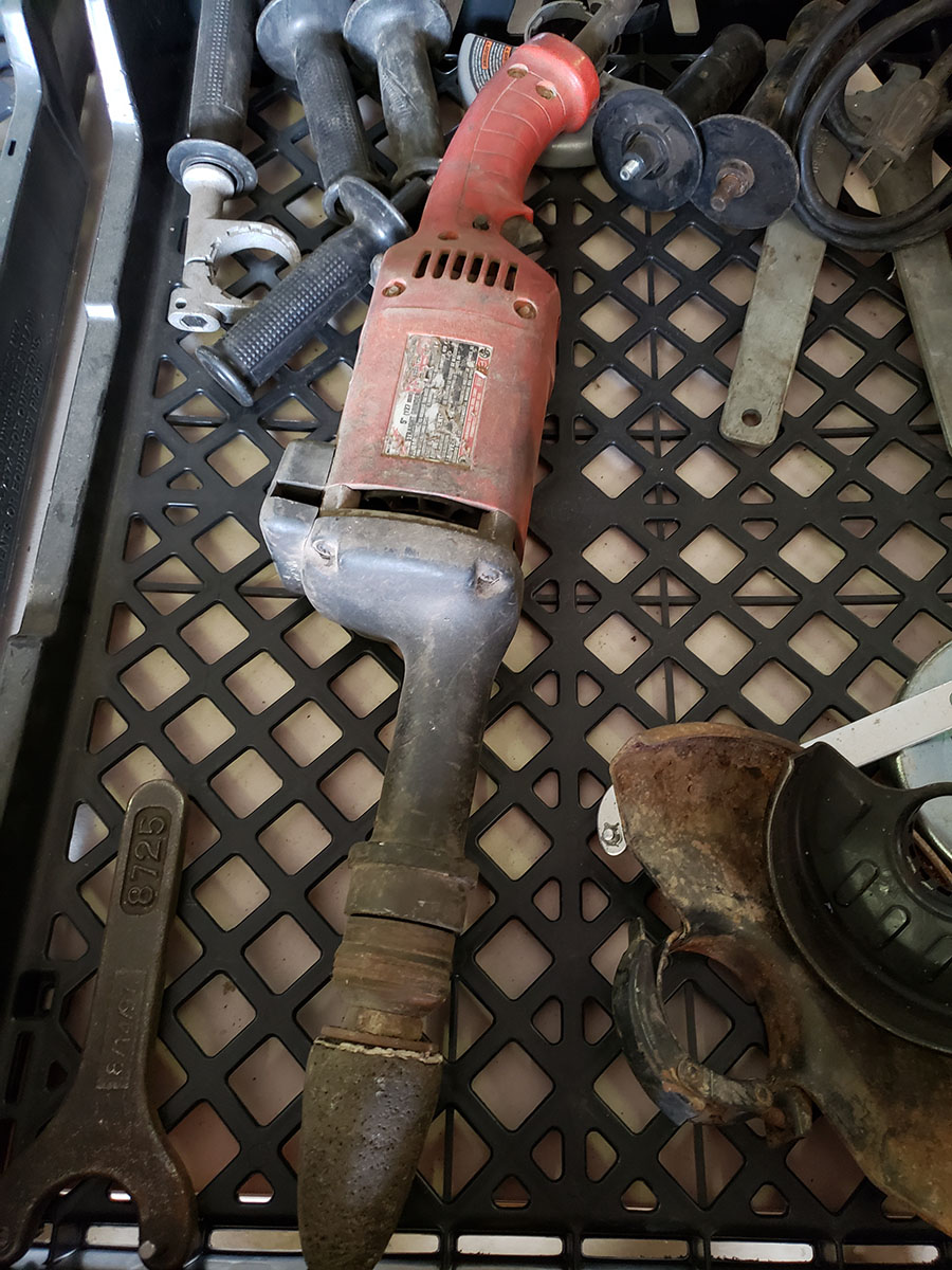 LOT OF ASSORTED MILWAUKEE ELECTRIC TOOLS - Image 3 of 7