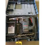 BOSCH ELECTRIC HAMMER DRILL RH328VC WITH BITS