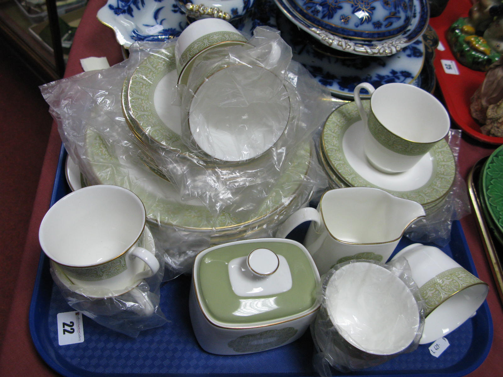 Lot 22 - Royal Doulton 'Sonnet' Table Ware, of thirty six pieces.