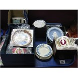 Royal Worcester and Wedgwood Boxed Ceramics:- One Tray