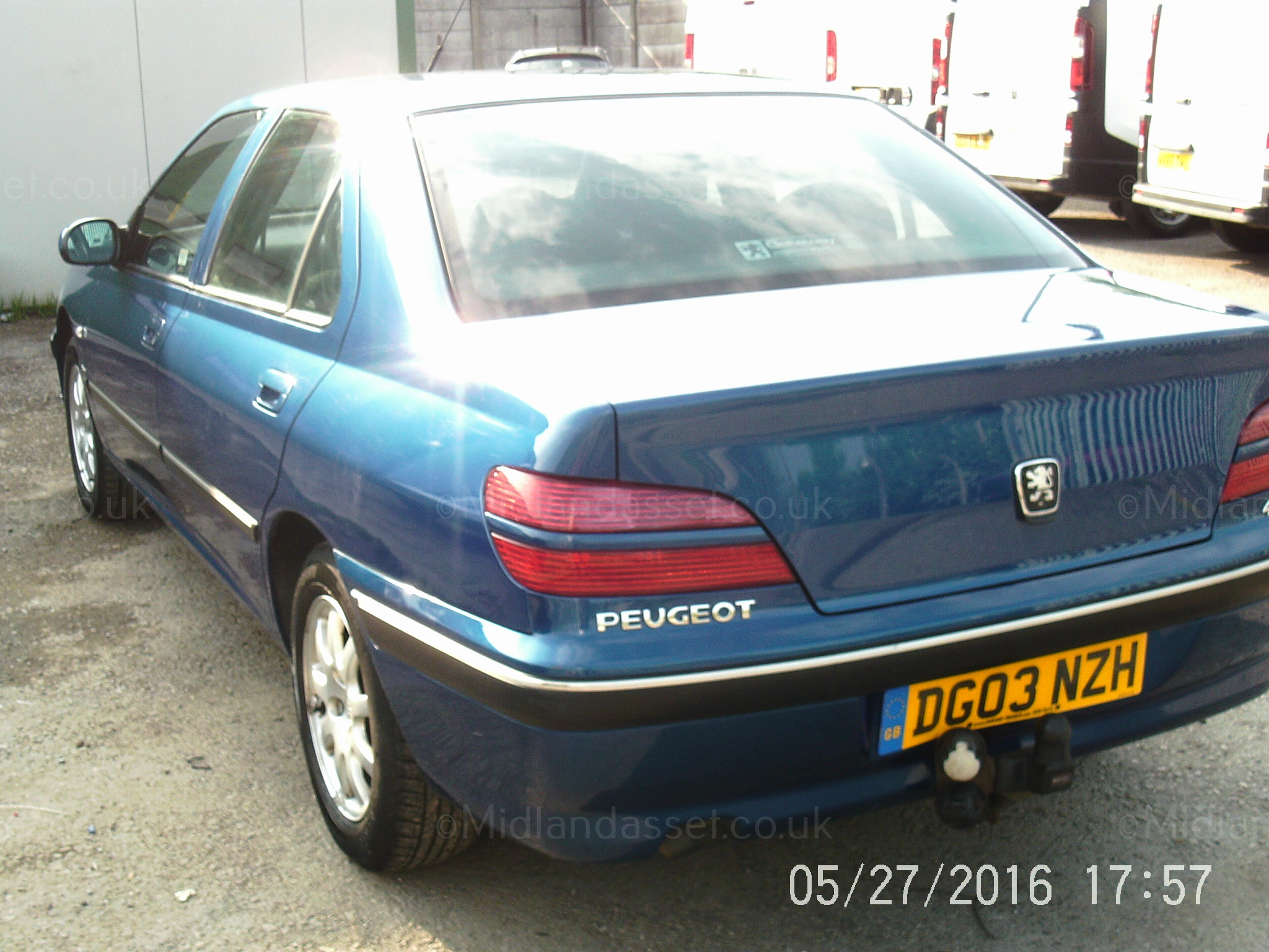 Nl 2003 03 reg peugeot 406 rapier hdi 4 door saloon no vat date of registration 7th marc - Garage peugeot la defense ...
