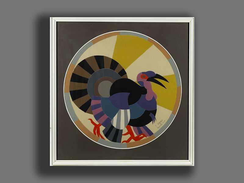 Lot 1512 - Depero, Fortunato1892 Fondo/ Trient - 1960 Rovereto Der italienische Futurist erhielt seine