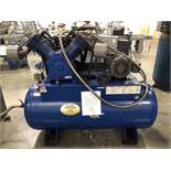 Quincy Horizontal Tank Mounted Air Compressor, 15-HP