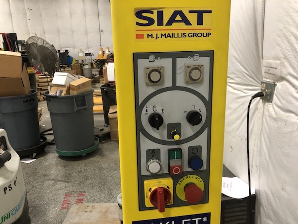 Siat Automatic Stretch Pallet Wrapper - Image 2 of 5