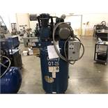 Quincy Vertical Tank Mounted Air Compressor, 7.5-HP