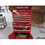 Mastercraft 2 pc rolling tool chest
