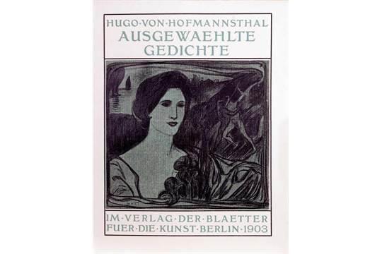 Stefan George Hugo Von Hofmannsthal Ausgewaehlte Gedichte
