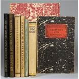 Johannes R[obert] Becher. Sechs Erstausgaben, erschienen im Insel Verlag. Leipzig, Insel 1918-