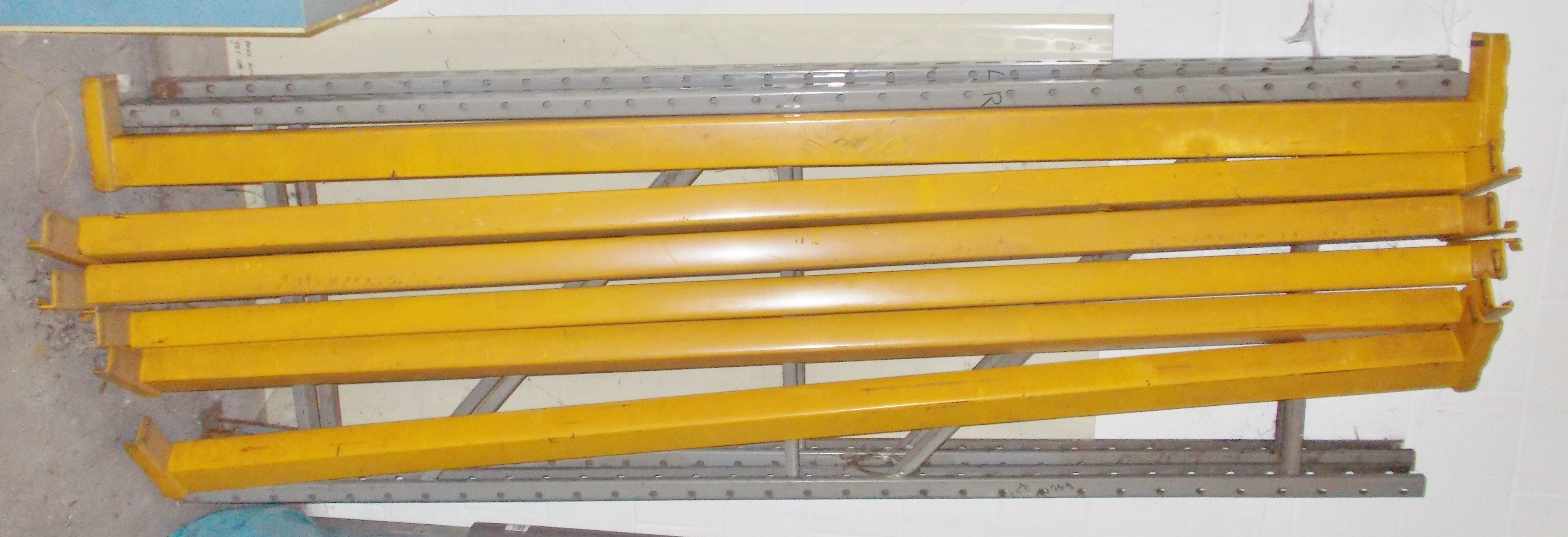 Lot 12 - SECTION PALLET RACKING