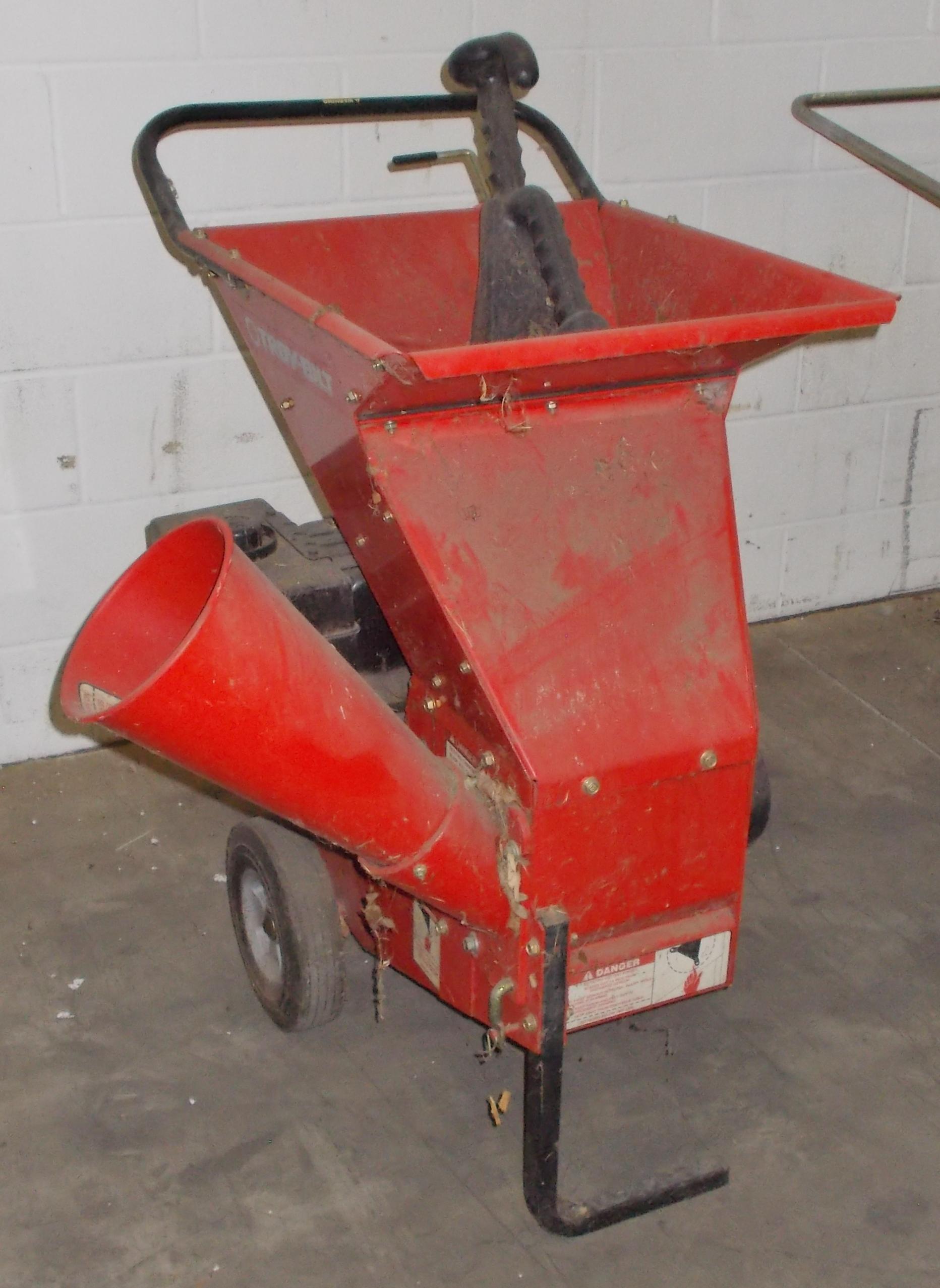 Lot 8 - TROY-BILT 10-HP PORTABLE CHIPPER/SHEDDER