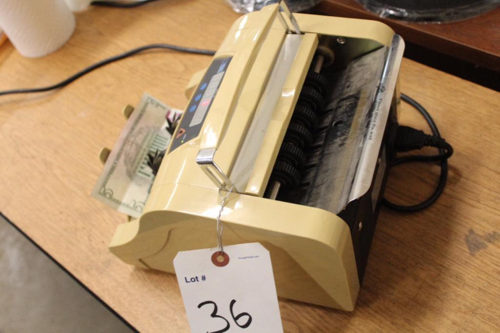 Lot 36 - ERC 10 Bill Counter