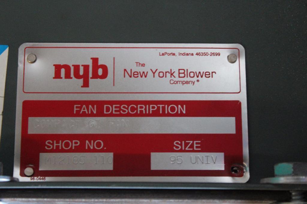 Lot 52 - BloApCo 3B & NYB compact GI Fan