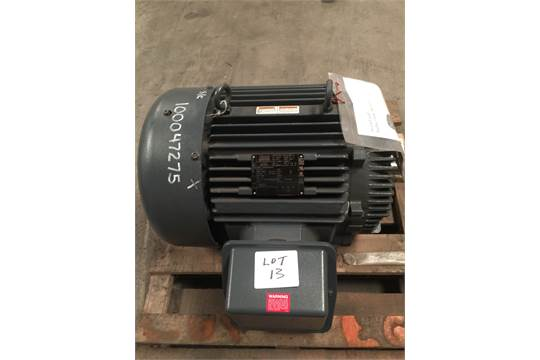 Leeson lincoln 50 hp electric motor model ccf4p50us64 tefc for 50 hp dc motor