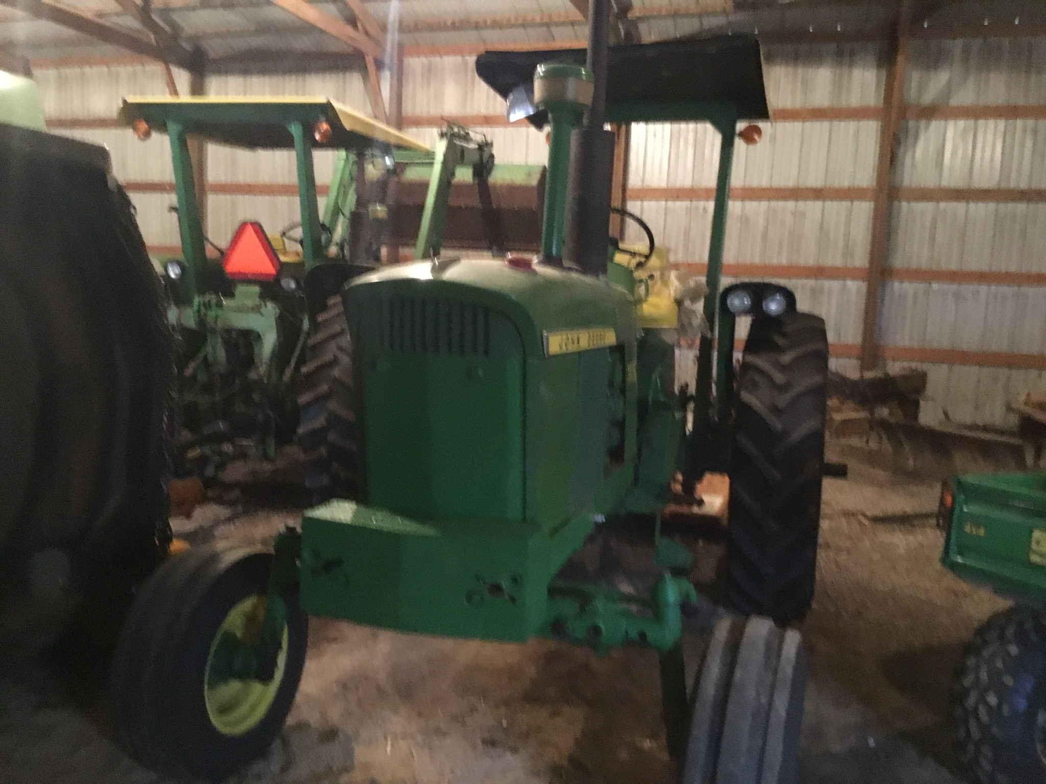 1966 John Deere 3020 Gas, JD Wide Front, Synchro Range, Roll Bar & Canopy, Dual Hydraulic Remotes, - Image 12 of 13