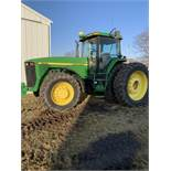 1997 John Deere 8300 MFWD, Power Shift, 3 Hydraulic Remotes, 3 Pt., Quick Hitch, PTO, Green Star