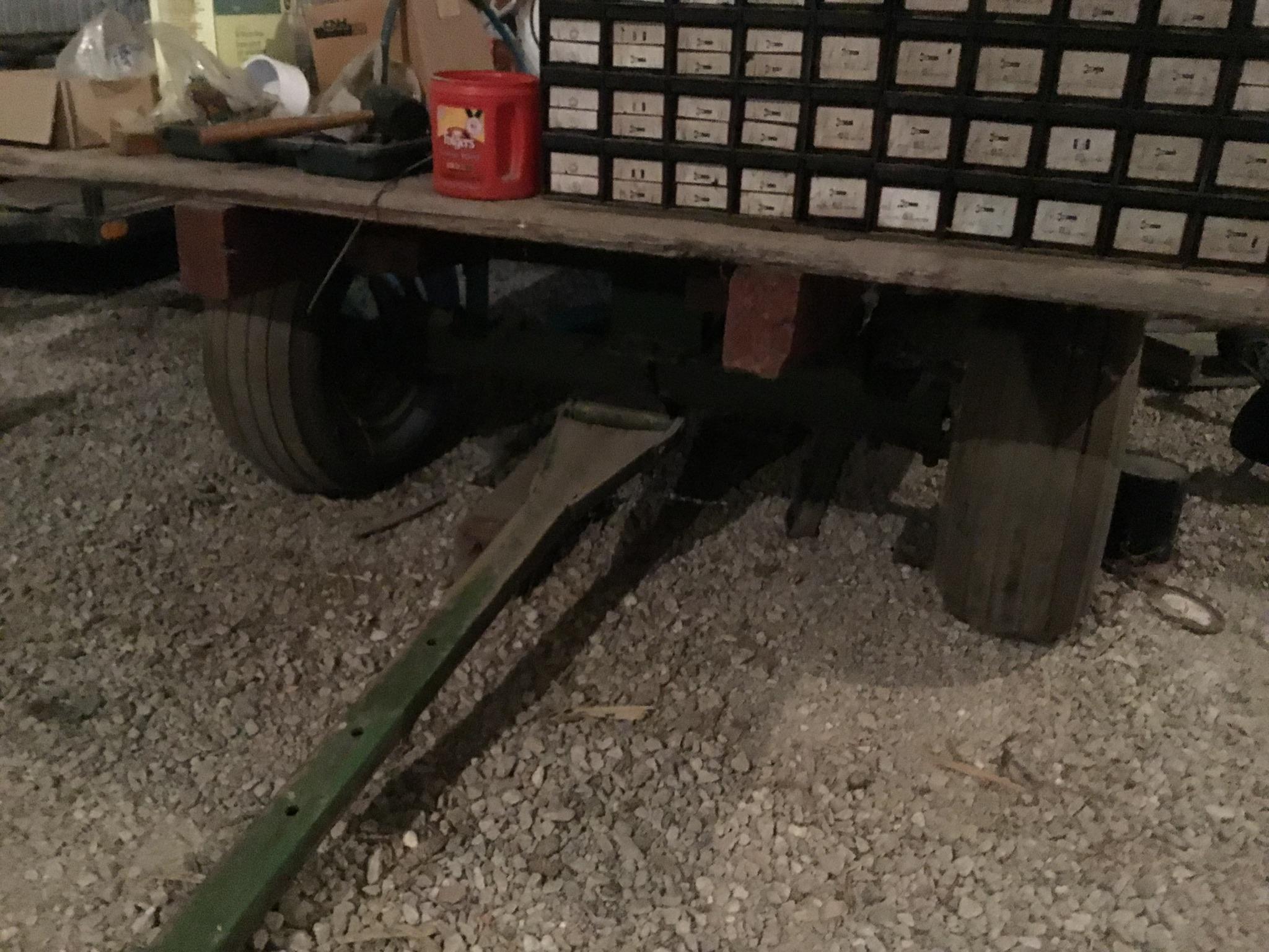 John Deere 963 Running Gear with 16Ft. Hay Rack Top W/Standards