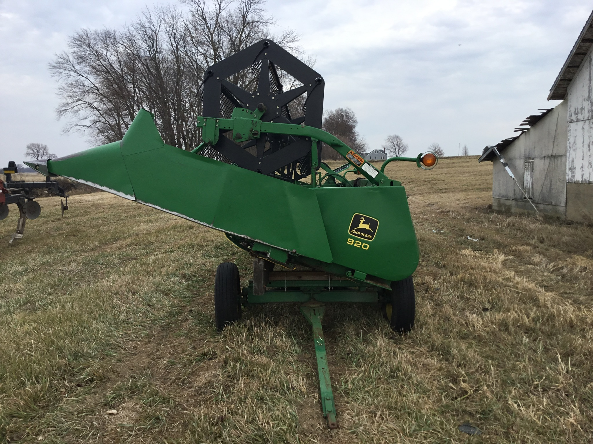 Homemade Head Carrier on JD 963 Gear, 20 Ft. - Image 3 of 3