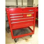 "U. S. General 30"" 5-Drawer Tool Cart"