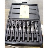 "DRILL SET, USA, 1/2 shank, 9/16"", 5/8"", 11/16"", 3/4"", 13/16"", 7/8"", 15/16"", 1"" (8 pcs.)"
