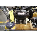 "Lot 1 - BENCH GRINDER, 6"", 1/2 HP"