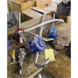 LOT OF BARREL TRANSFER PUMPS: manual & pneu.