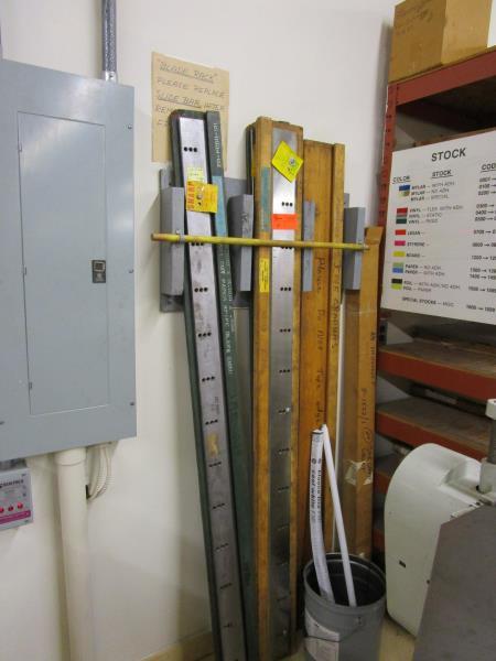 Lot 4 - (3) Spare Blades