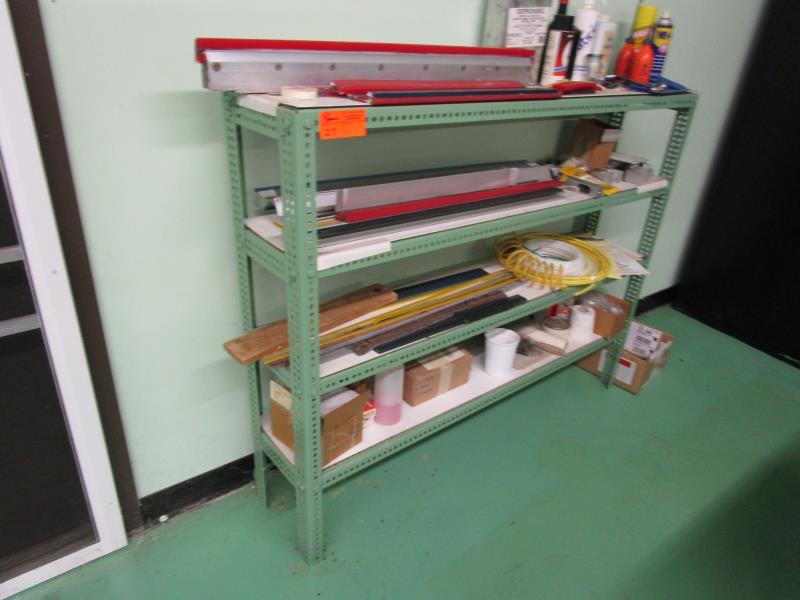 Lot 27 - 5' Four Shelf Rack