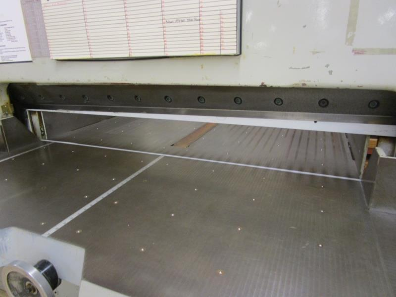 Lot 3 - Paper Cutter by Como Maskin AB, Alvesta Sweden, Type: 59-77, Number 2990, Approval: 6327, CSA: