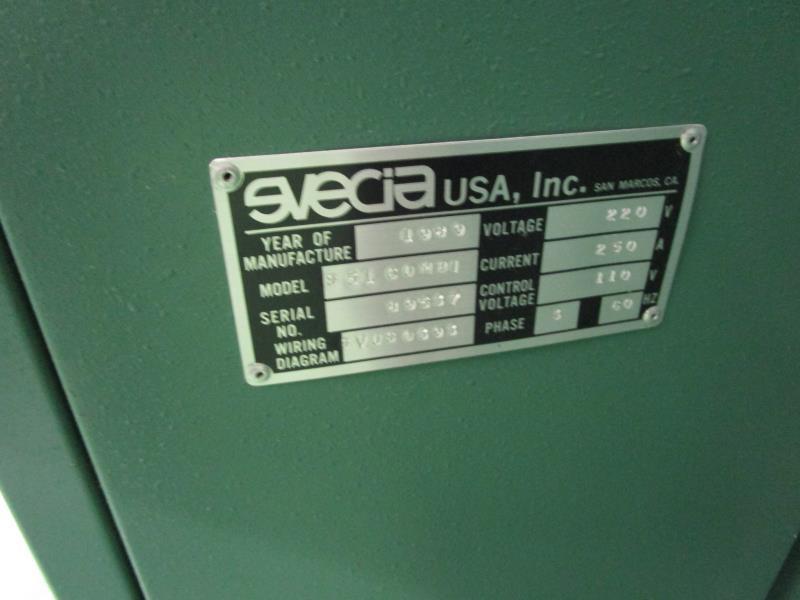 Lot 19 - Svecia Screen Printer, Screen Printing Press, Conventional IR & UV Combination Dryer, Model: