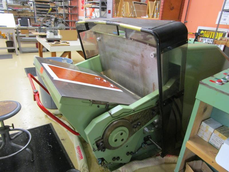 Lot 5 - Standard Paper Box Machine Die Cutter, Model: 32X44, SN: P7984