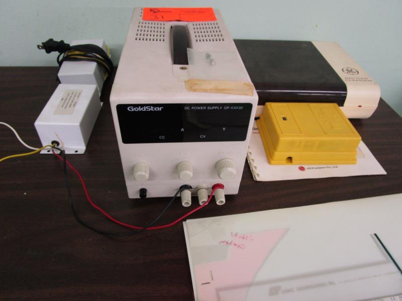 Lot 31 - Goldstar DC Power Supply, Model: GP-4303D