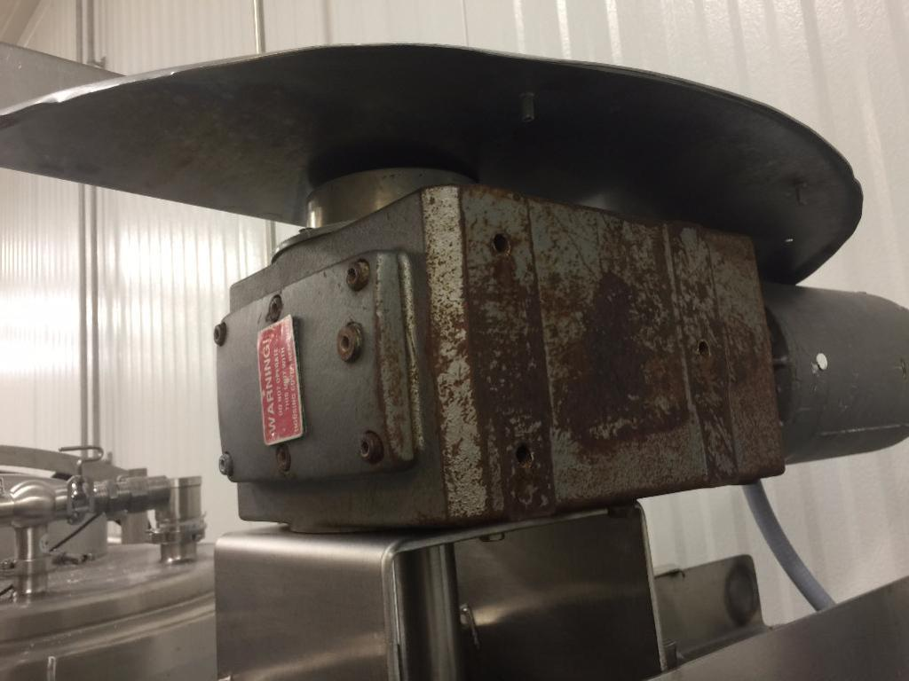Lot 64 - Stainless Steel Clear Coat Mixing Skid and Controls