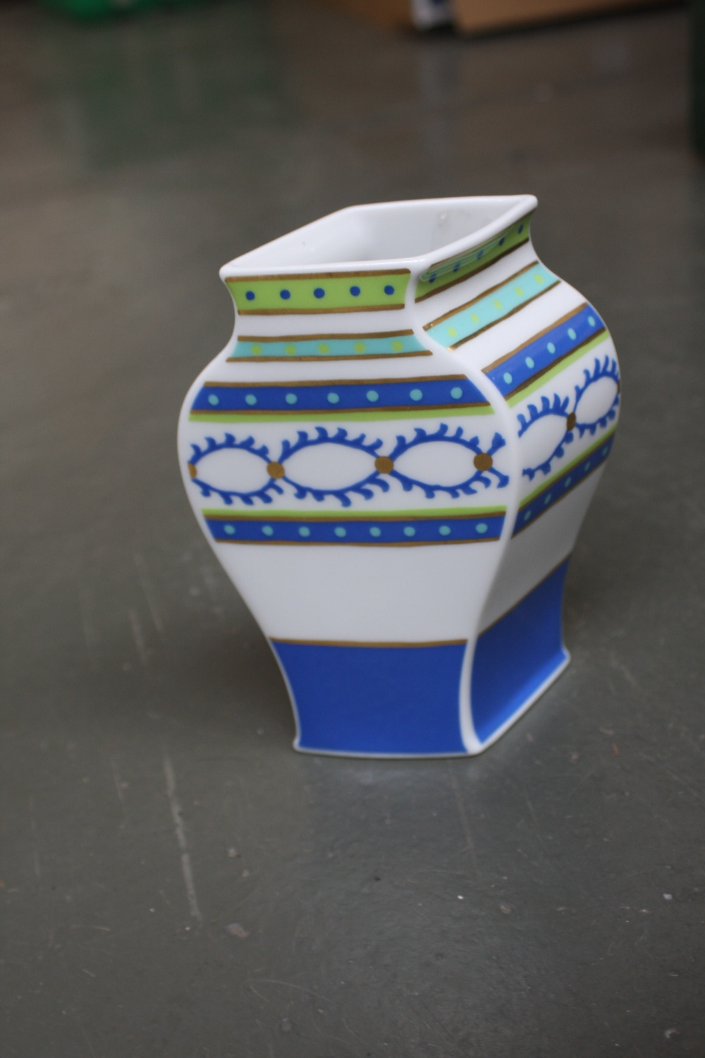 A Rosenthal Studio Line Designers Guild Vase By Tadao Amano In