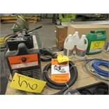 WALTER SURFOX 101 WELD CLEANING MACHINE W/CHEMICALS