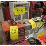 LOT 4 ASST. CHROMALOX HFC-4800-1 4,800W, 3-CIMPLEX DCH-4831A 4,800W HEATERS