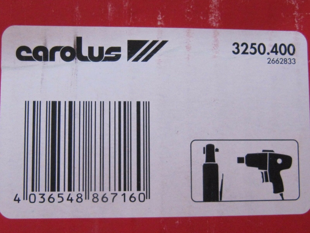 Lot 23 - Carolus Air Grinder. 3250.400no vat on hammer.You will get 1 of these.Brand new and unused.