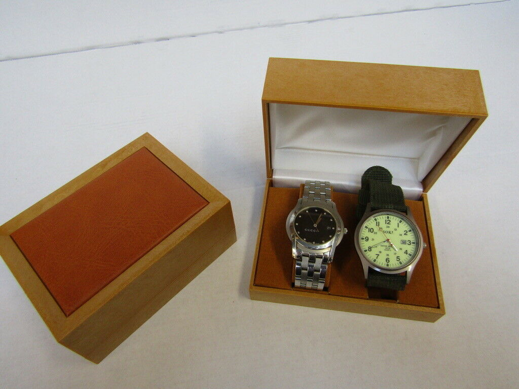 20 x Watch & Jewellery Box.no vat on hammer.You will get 20 of these.Please note, the watches in - Image 2 of 4