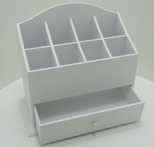 Lot 83 - Make up Storage Caddy. Recycled Wood. Jewellery, Lip Stick etc.no vat on hammer.You will get 1 of