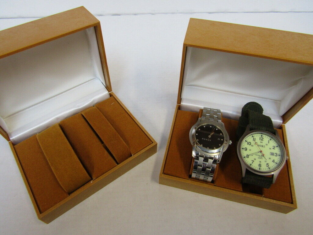 20 x Watch & Jewellery Box.no vat on hammer.You will get 20 of these.Please note, the watches in