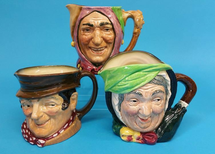 Lot 19 - Three various Royal Doulton character jugs
