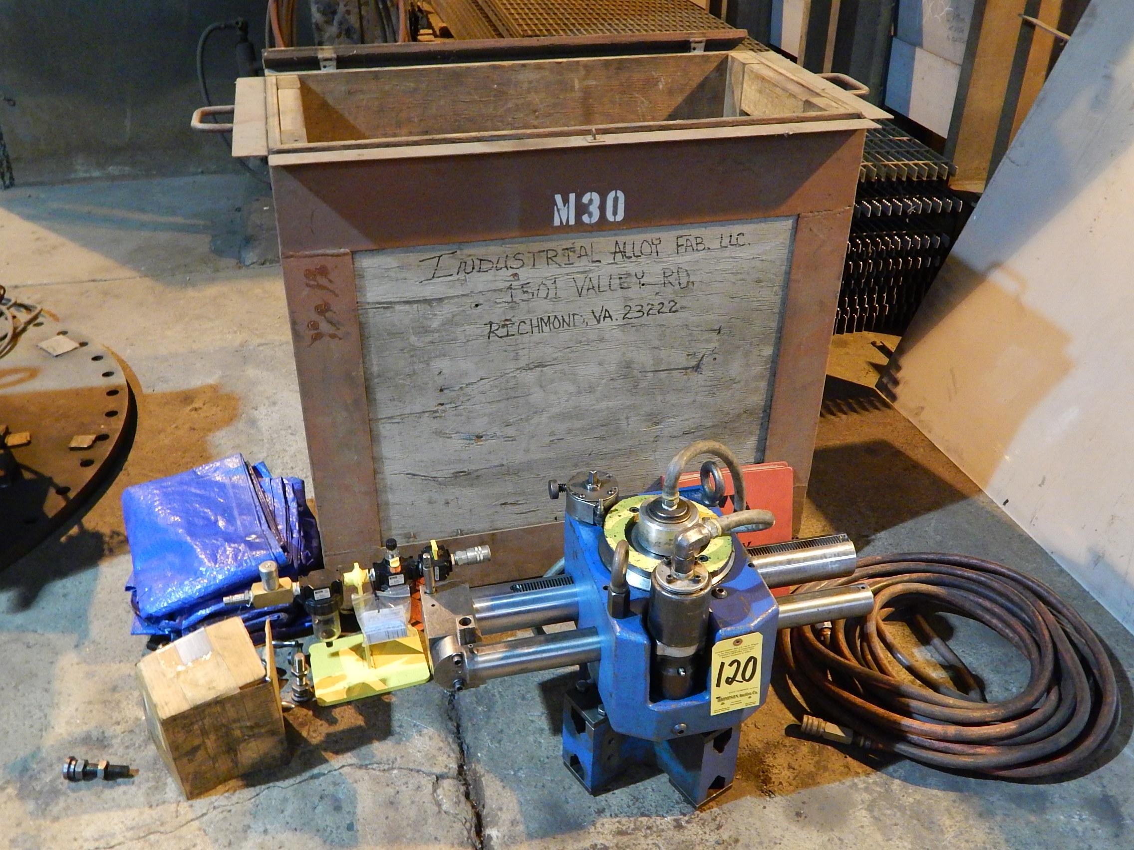 Lot 120 - Climax Model FF40 Portable Flange Facer
