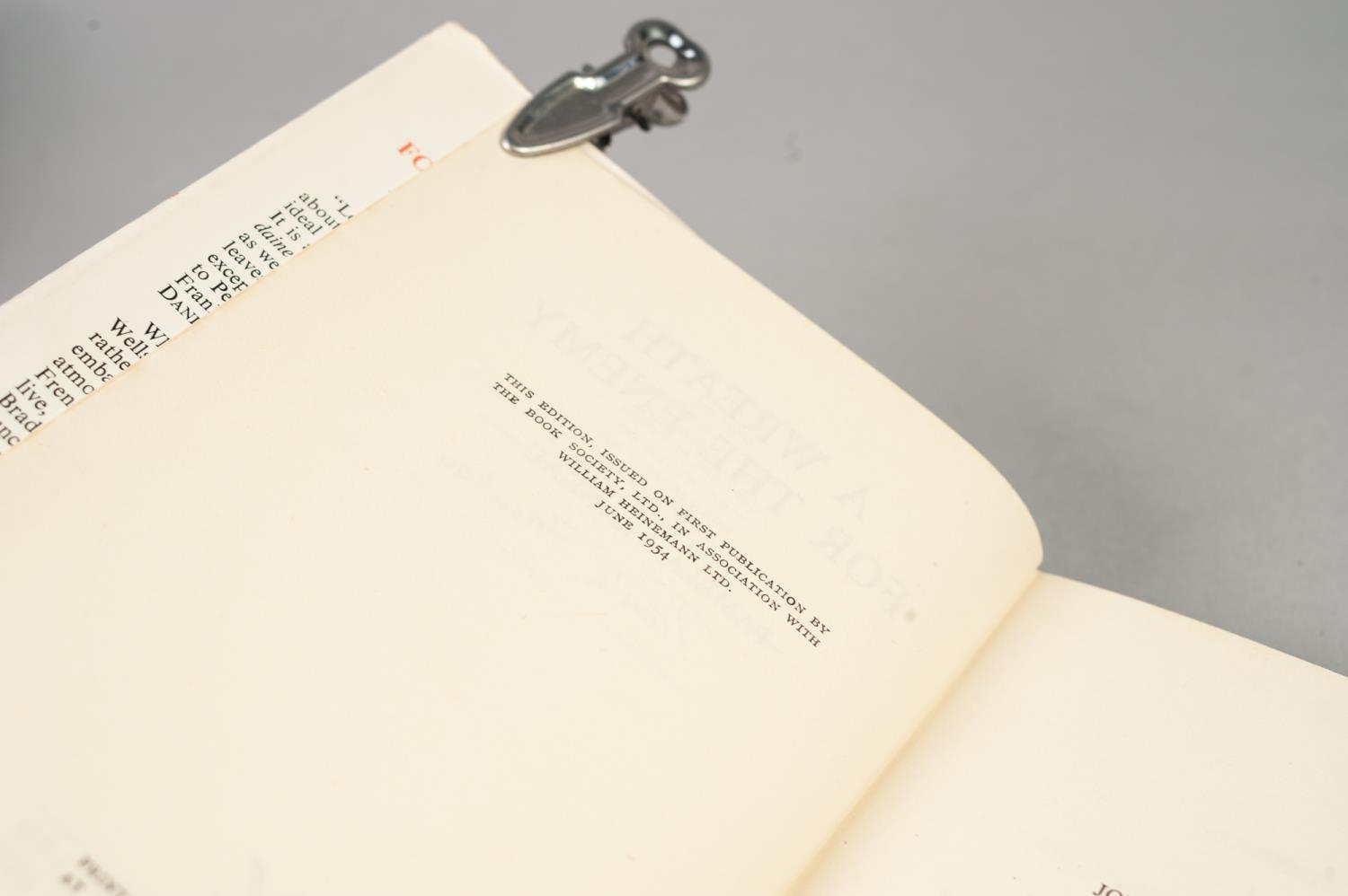 SIGNED TITLES: RICHARD MASON, The Wind Cannot Read, 1947, with dust jacket; E C LARGE, Sugar in - Image 6 of 18