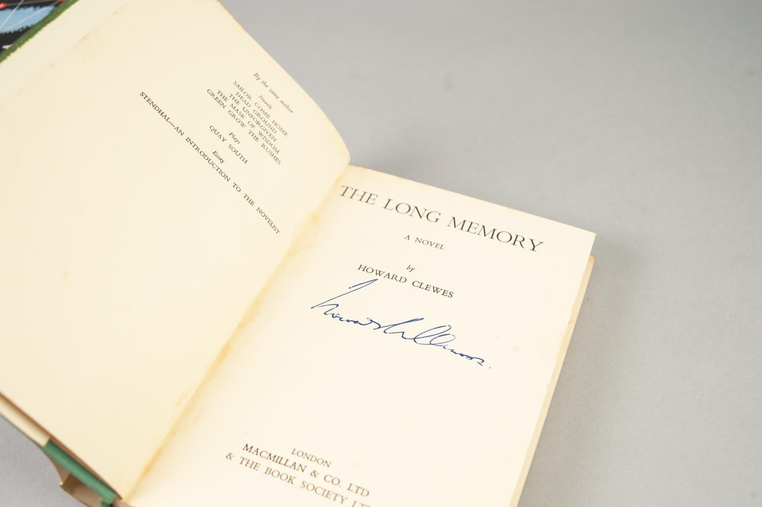 SIGNED TITLES: RICHARD MASON, The Wind Cannot Read, 1947, with dust jacket; E C LARGE, Sugar in - Image 15 of 18