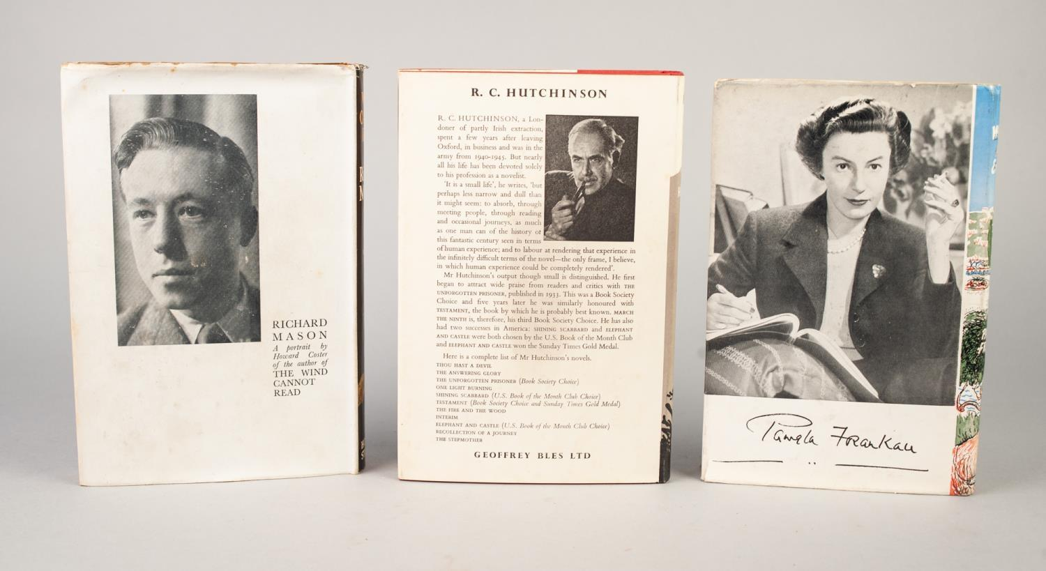 SIGNED TITLES: RICHARD MASON, The Wind Cannot Read, 1947, with dust jacket; E C LARGE, Sugar in - Image 4 of 18