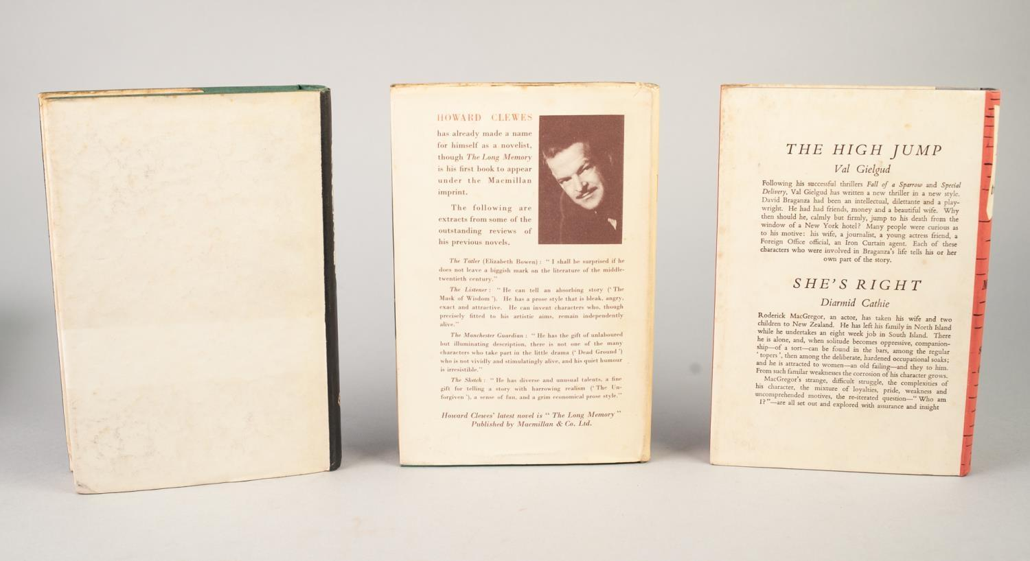 SIGNED TITLES: RICHARD MASON, The Wind Cannot Read, 1947, with dust jacket; E C LARGE, Sugar in - Image 12 of 18