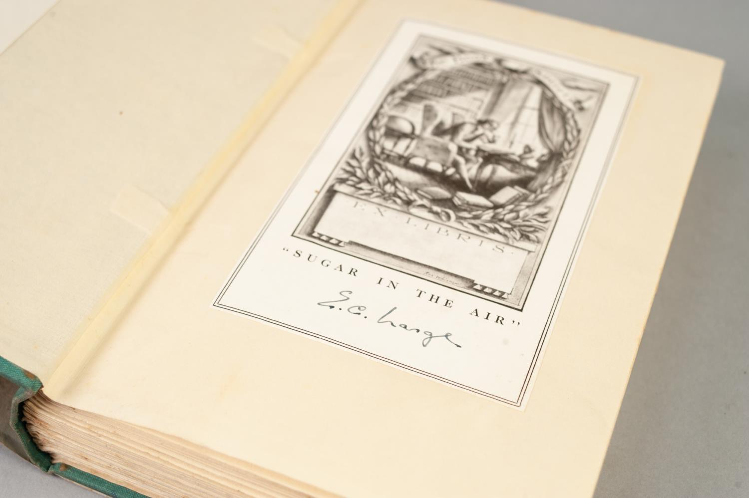 SIGNED TITLES: RICHARD MASON, The Wind Cannot Read, 1947, with dust jacket; E C LARGE, Sugar in - Image 17 of 18