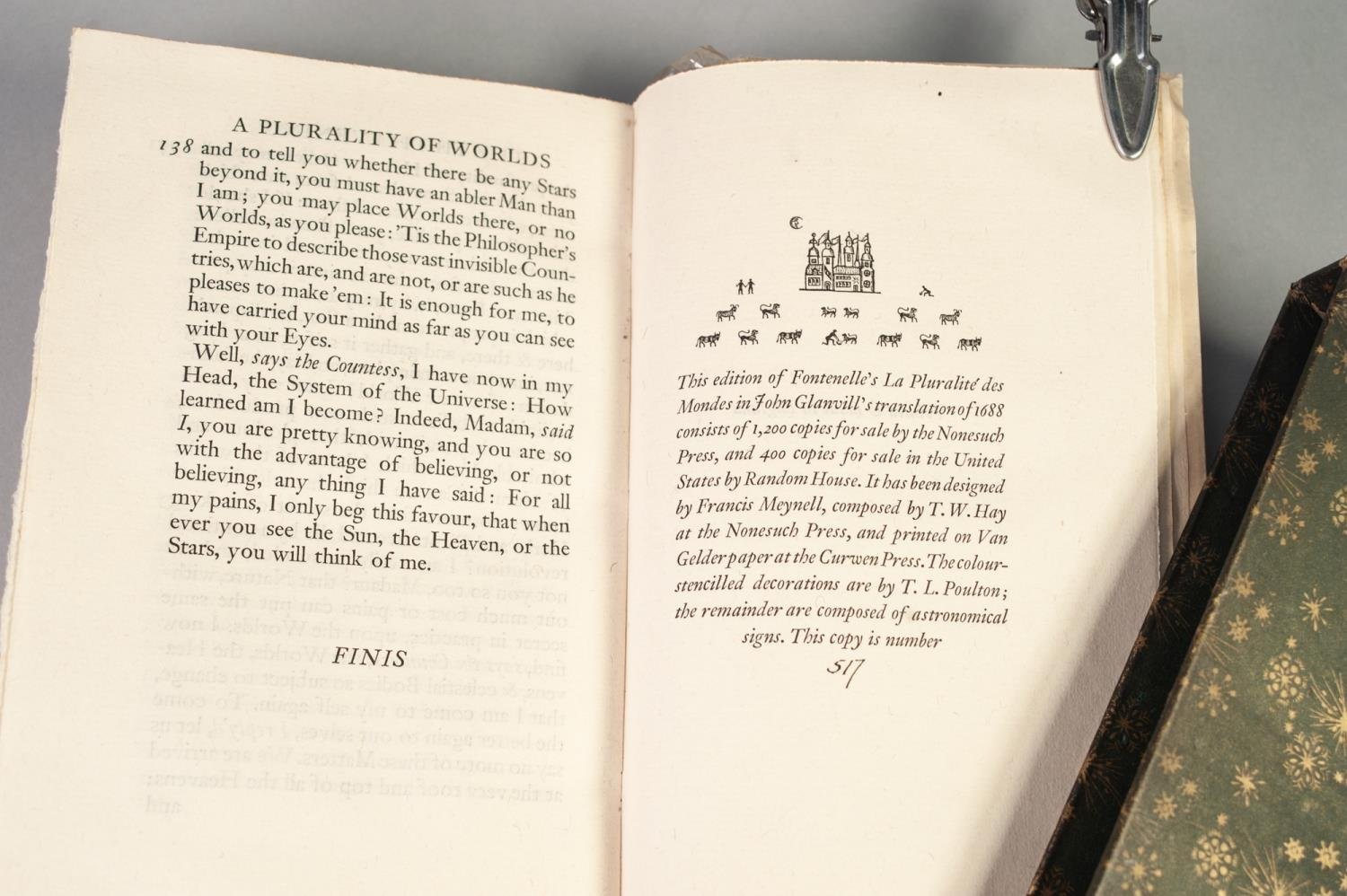 PRIVATE PRESS - TWO TITLES FROM THE NONESUCH PRESS to include The Receipt Book of Elizabeth Raper - Image 7 of 7