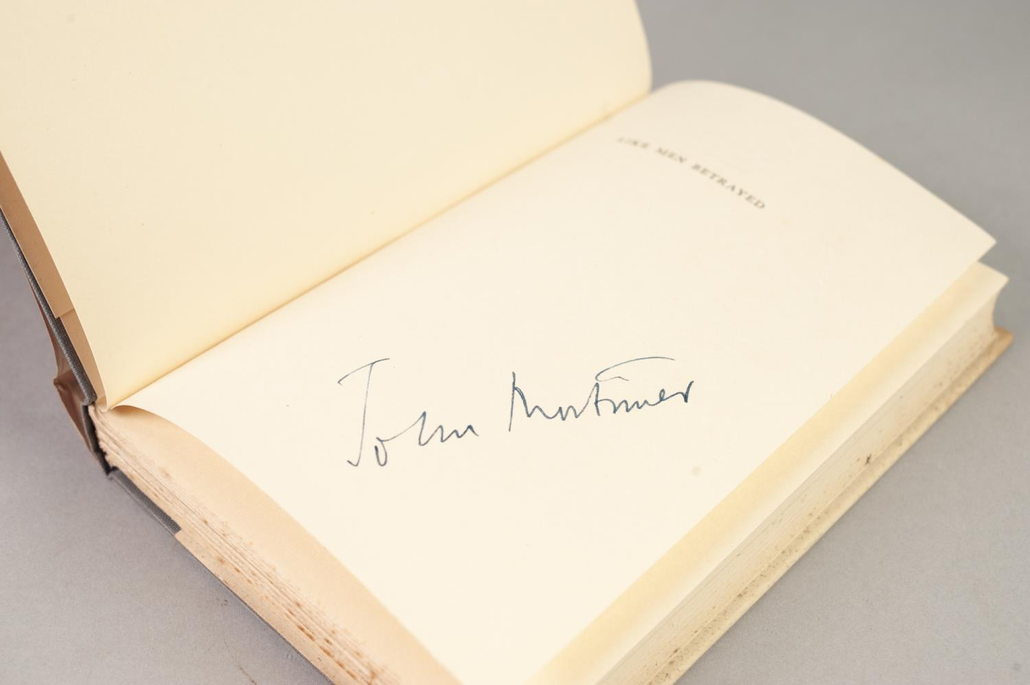 SIGNED TITLES: RICHARD MASON, The Wind Cannot Read, 1947, with dust jacket; E C LARGE, Sugar in - Image 14 of 18