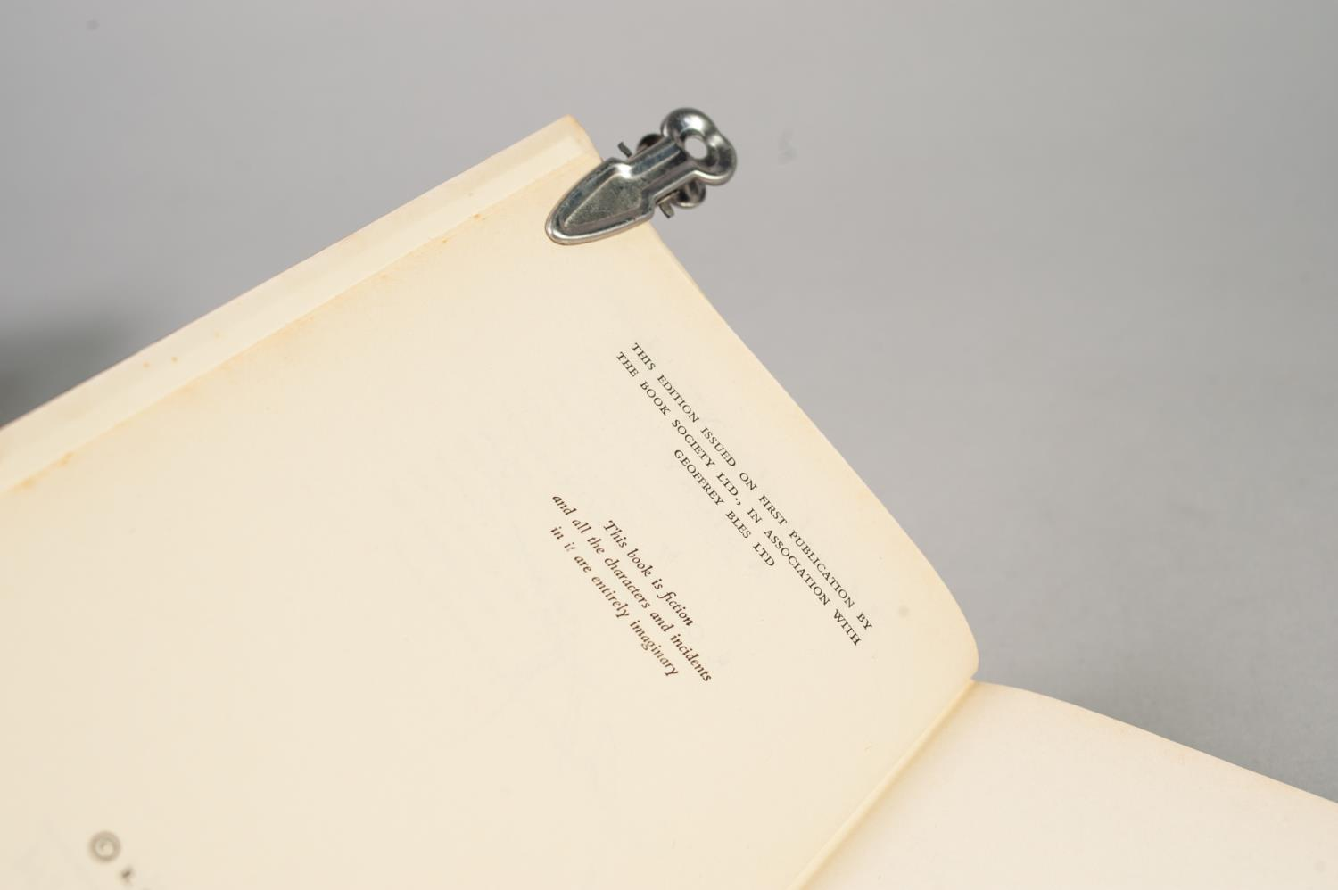 SIGNED TITLES: RICHARD MASON, The Wind Cannot Read, 1947, with dust jacket; E C LARGE, Sugar in - Image 10 of 18